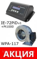 Комплект автоматика IE-72v1 PiD датчик Pt1000