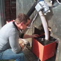 Пелетная горелка RCE от 15 до 50 кВт