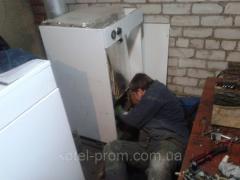 Сварочные работы по теплообменникам газовых...
