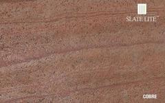 Каменный шпон Slate Lite COBRE 61X122см.