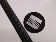 Эмблема SEAT на колпак SJS (Турция) (к-т 4 шт)