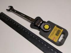 Ключ рожково-накидной 13 мм СИЛА (202117) CrV/с