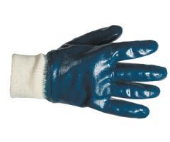 Gloves are nitrile. Gloves with double covering