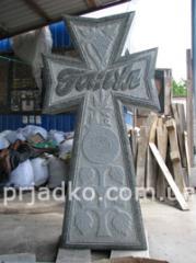 Crosses made of granite, granite crosses,