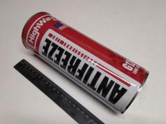Антифриз HighWay LONG LIFE G12+ (красный) 1 л.