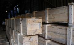 Boxes and boxes tare wooden the price to purchase,