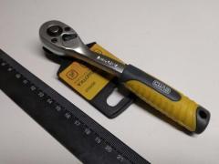 Ключ-трещотка СИЛА (257007) Профи CrV ¼ 72T с