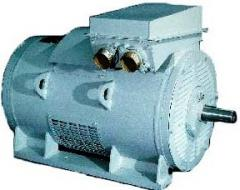 Asynchronous motors of the AKNZ-4 series with the