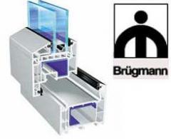 Окна металлопластиковые профиль Brugmann.