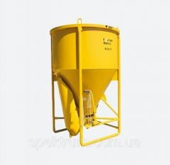 Buckets for concrete