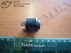 Вимикач без символу 2812.3710-02 (кнопка)