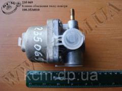 Клапан обмеження тиску повітря 100.3534010