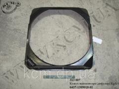 Кожух вентилятора 6437-1309010-01 (дифузор) КрАЗ
