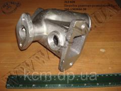 Патрубок радіатора розподільний 260-1303016-20 КрАЗ