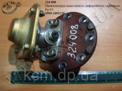 Пневмокамера міжколісного диференціала з кришкою 6505-2402125 КрАЗ