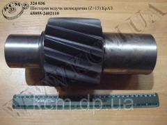 Шестерня ведуча циліндрична 65055-2402110 (Z=15) КрАЗ