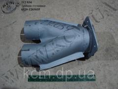 Трійник глушника 6520-1203035