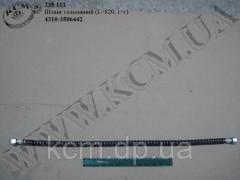 Шланг гальмівний 4310-3506442 (L=820, г+г)