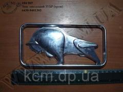 Знак заводський ЗУБР 6430-8401303 (хром)