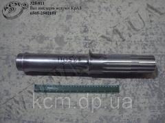 Вал шестерні ведучої 6505-2502151 КрАЗ