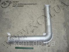 Труба приймальна нижн. 6437-1203012 КрАЗ