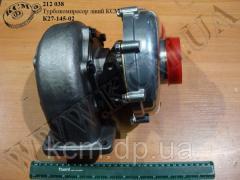 Турбокомпресор лів. К27-145-02 КСМ