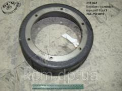 Барабан гальмівний перед. 260-3501070 КрАЗ