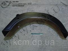 Крило кабіни прав. 63172-8403020 МАЗ