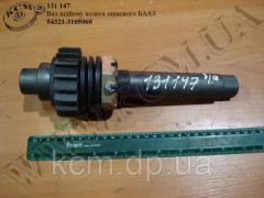 Вал підйому колеса запасного 54321-3105060 БААЗ