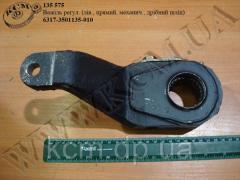Важіль регул. 6317-3501135-010 (лів., прямий, механич., дрібний шліц)