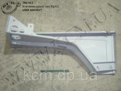 Боковина крила лів. 6505-8403017 КрАЗ
