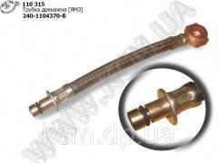 Трубка дренажна 240-1104370-Б ЯМЗ
