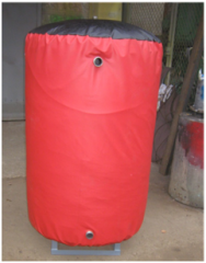 Аккумулирующая буферная емкость (бак-аккумулятор) для системы отопления 990л
