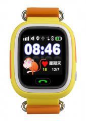 Оригинальные детские смарт часы с GPS WONLEX GW100 (Q90) цвет оранжевый