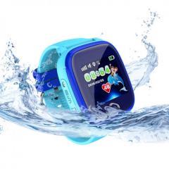 Оригинальные детские смарт часы с GPS WONLEX GW400S цвет голубой