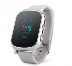 Оригинальные детские смарт часы с GPS WONLEX GW700 цвет серый
