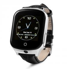Оригинальные детские смарт часы с GPS WONLEX GW1000s (T100) цвет черный