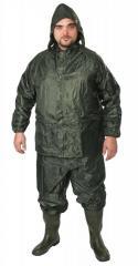 Костюм ПВХ - нейлон (куртка,брюки), зеленый