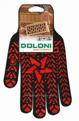 Перчатки Doloni 562 ДКГ Звезда черная