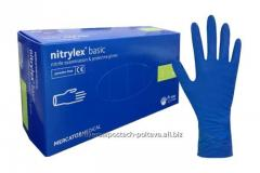 Перчатки хозяйственные латексные, тонкие (Ot)