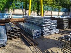 Reinforced concrete crossbars