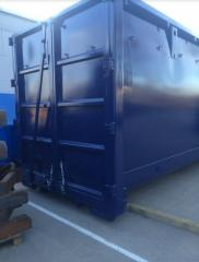 Car container blue