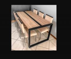 Стол металлический прямоугольный квадратная...