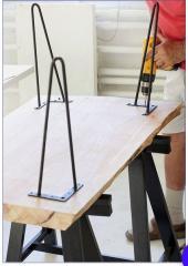 Металлическая ножки для стола -дуги