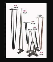 Металлическая ножки для стола -дуги черные...