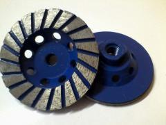 Diamond cup wheel (VEILS), diamond cup wheel,