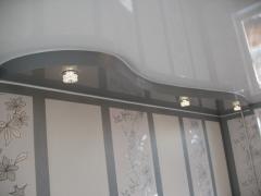 Stretch ceilings two-level Kiev, Kiev region,