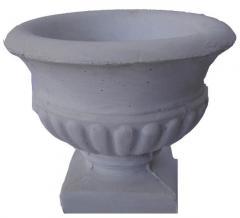 Florists are reinforced concrete, vases concrete