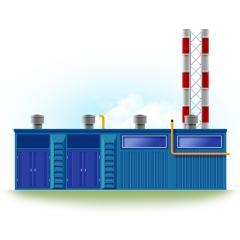 Блочно-модульная газовая котельная БМГК (мощность
