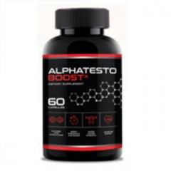 Капсулы для повышения потенции Alpha Testo Boost (Альфа Тесто Буст)